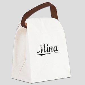 Mina, Vintage Canvas Lunch Bag