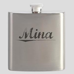 Mina, Vintage Flask