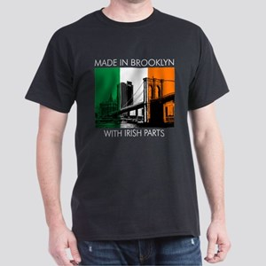 Made in Brooklyn with Irish Parts Dark T-Shirt