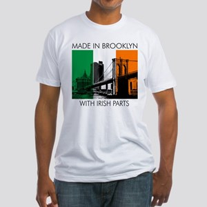 Made in Brooklyn with Irish Parts Fitted T-Shirt