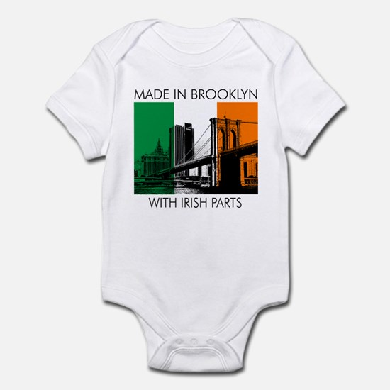 Made in Brooklyn with Irish Parts Infant Bodysuit