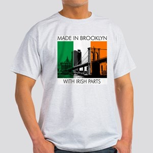 Made in Brooklyn with Irish Parts Light T-Shirt