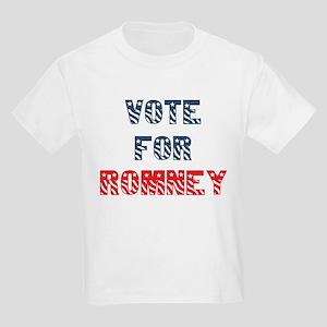 Vote For ROMNEY Kids T-Shirt