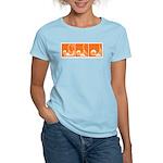Orange Fencer's Thrust Women's Light T-Shirt