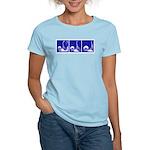 Blue Fencing Thrust Women's Light T-Shirt