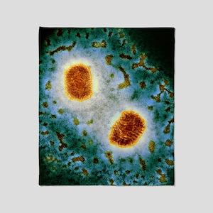 Molluscum contagiosum virus, TEM Throw Blanket