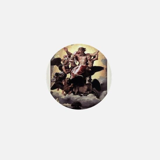 Ezekiel's Vision - Raphael Mini Button