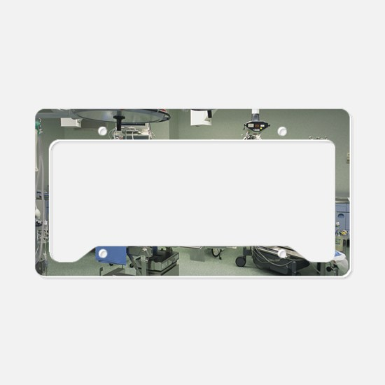 Operating theatre License Plate Holder