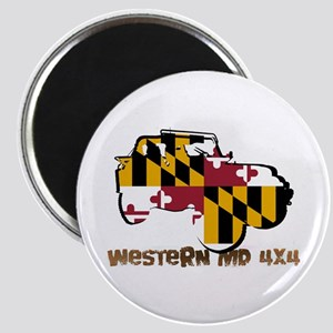 Western Md 4x4 Magnets