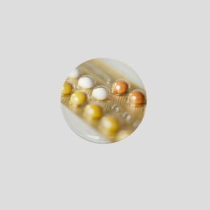 Oral contraception Mini Button