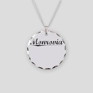 Monrovia, Vintage Necklace Circle Charm