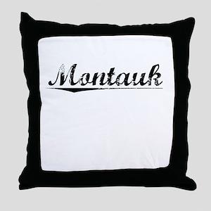 Montauk, Vintage Throw Pillow