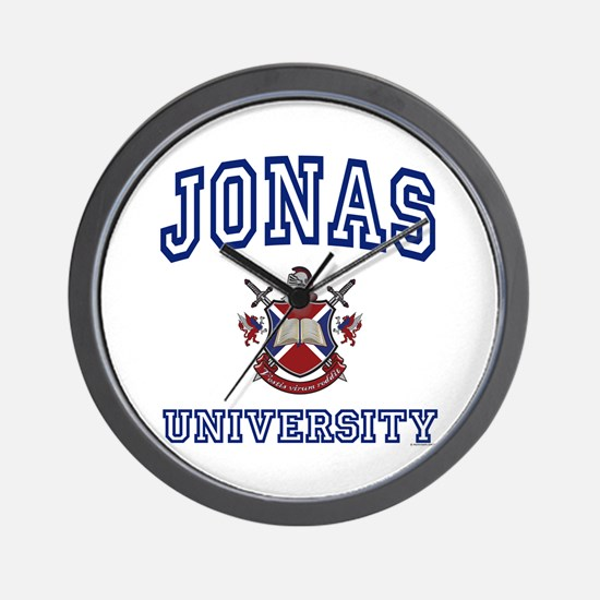 JONAS University Wall Clock