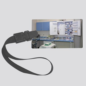 Operating theatre drugs cabinet Large Luggage Tag