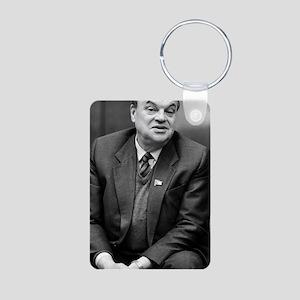 Nikolai Basov, Soviet phys Aluminum Photo Keychain