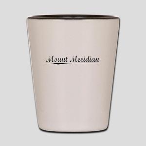 Mount Meridian, Vintage Shot Glass