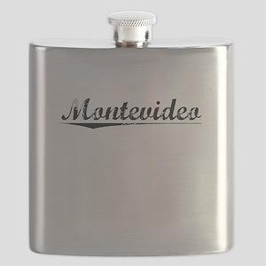 Montevideo, Vintage Flask