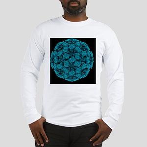 Norwalk virus particle Long Sleeve T-Shirt