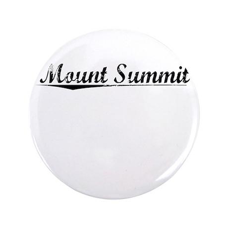 "Mount Summit, Vintage 3.5"" Button"