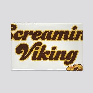 Cheers Screaming Viking Rectangle Magnet