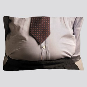 Obese businessman Pillow Case