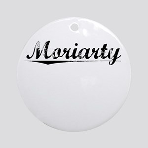 Moriarty, Vintage Round Ornament