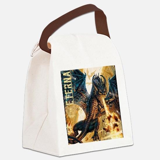 Eternal Edge-Dragon Fire Canvas Lunch Bag