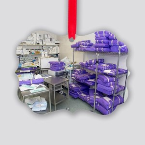 Operating theatre supplies store Picture Ornament