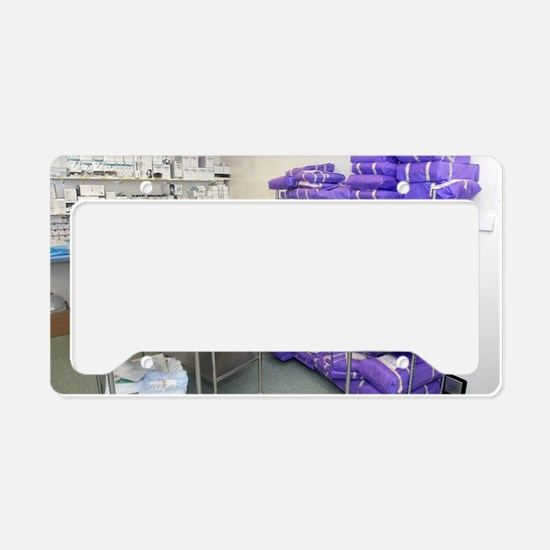 Operating theatre supplies st License Plate Holder