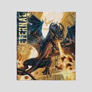 Eternal Edge-Dragon Fire Throw Blanket