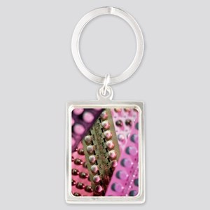 Oral contraceptive pills in pack Portrait Keychain