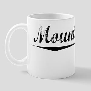 Mount Baldy, Vintage Mug