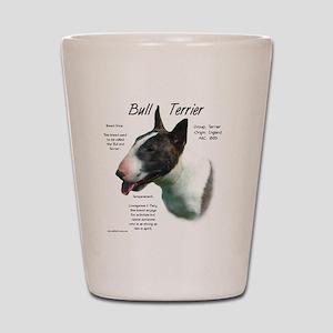 Bull Terrier (colored) Shot Glass