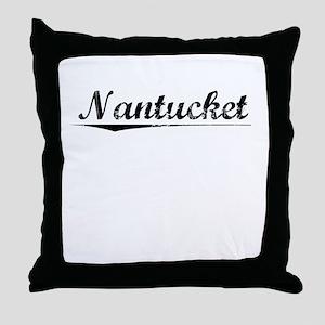 Nantucket, Vintage Throw Pillow