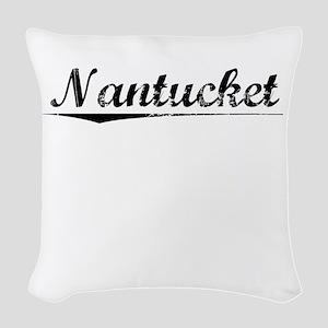 Nantucket, Vintage Woven Throw Pillow