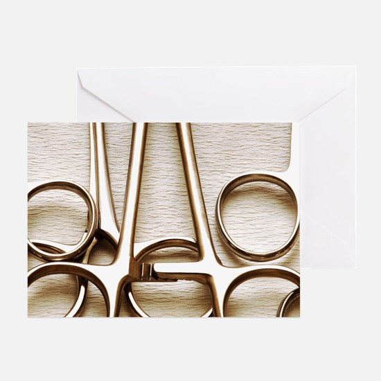 Orthopedic equipment Greeting Card