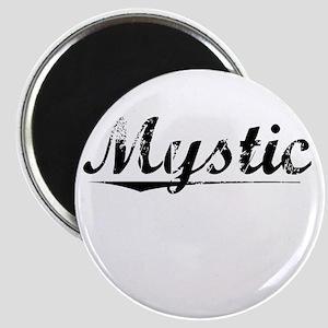 Mystic, Vintage Magnet