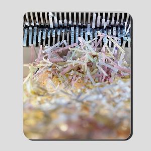 Paper shredder Mousepad