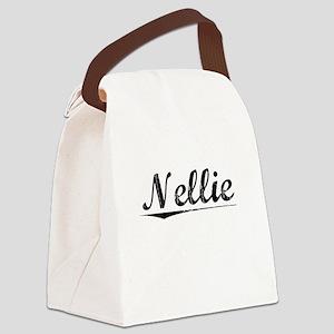 Nellie, Vintage Canvas Lunch Bag