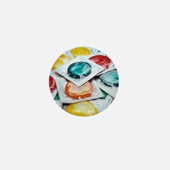 Packaged condoms Mini Button