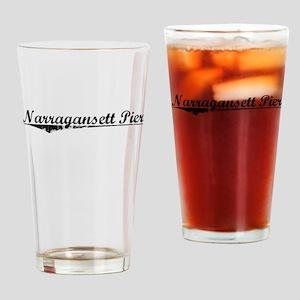 Narragansett Pier, Vintage Drinking Glass