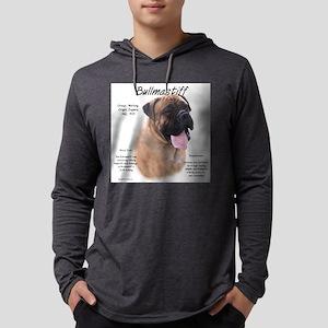 Bullmastiff (fawn) Mens Hooded Shirt