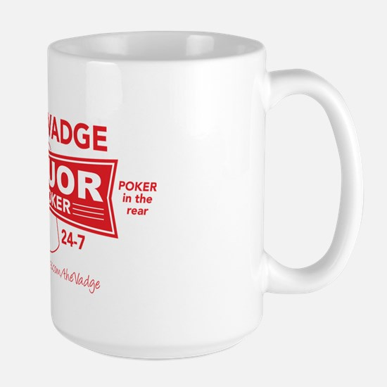 Liquor in the front Large Mug