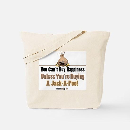 Jack-A-Poo dog Tote Bag