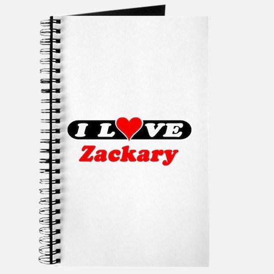I Love Zackary Journal