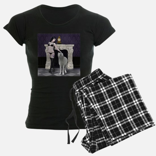 wolf girl nude pajamas