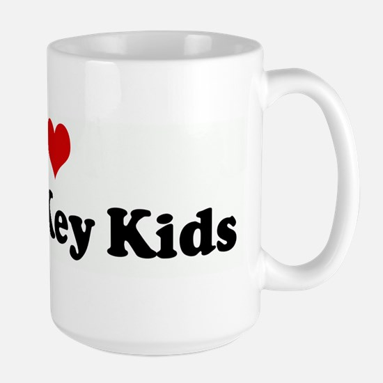 I Love Latch-Key Kids Mugs