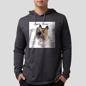 Cairn Terrier Mens Hooded Shirt