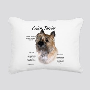 Cairn Terrier Rectangular Canvas Pillow
