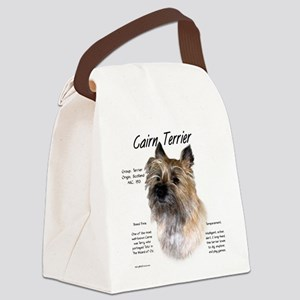 Cairn Terrier Canvas Lunch Bag